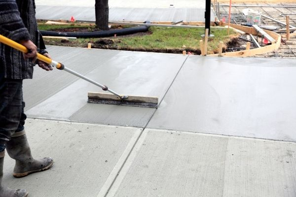 stamped concrete Knoxville